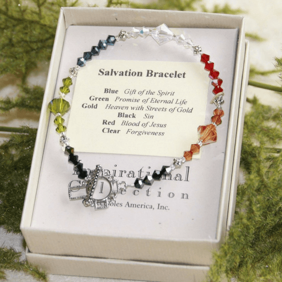 Swarovski Crystal Salvation Story Bracelet