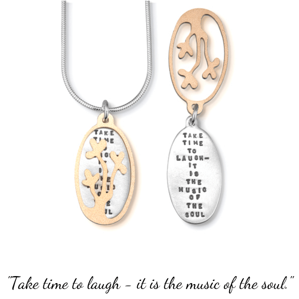 Music of the Soul Sterling Silver Necklace | Kathy Bransfield