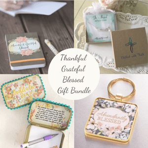 Thankful Grateful Blessed Gift Bundle Care Package