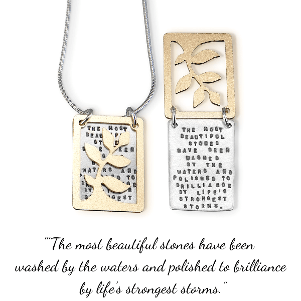 The Most Beautiful Stones Sterling Silver Necklace | Kathy Bransfield