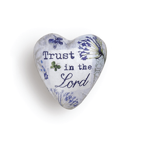 Art Heart Pocket Token | Trust In The Lord