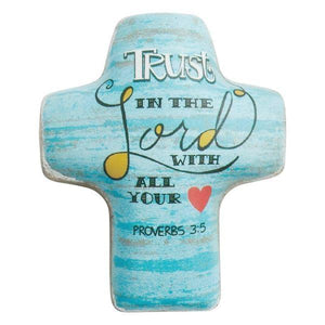 Trust in the Lord Pocket Token | Proverbs 3:5 | Artful Cross