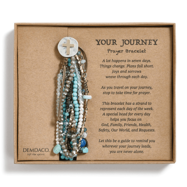 Your Journey Beaded Prayer Bracelet | Demdaco