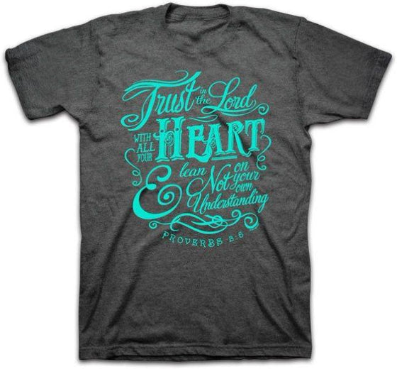 Trust in the Lord Proverbs 3:5 Christian T-Shirt - Clothed with Truth