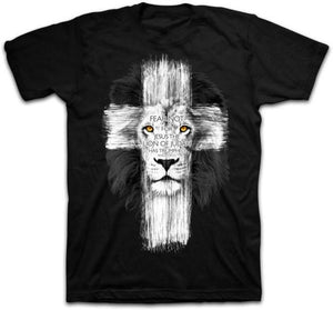 Lion Cross Christian T-Shirt - Clothed with Truth