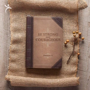 Joshua 1:9 Christian Gratitude Journal | Be Strong and Courageous