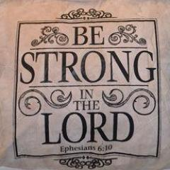 Be Strong in the Lord Ephesians 6:10 Suede Tote Bag