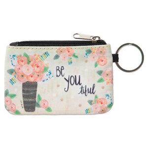 Be You-ti-ful ID Wallet Keychain