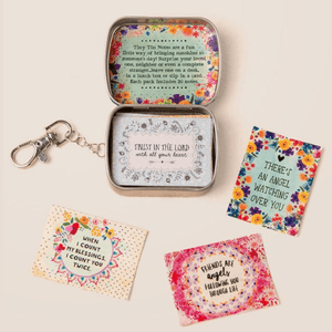 Blessing Box | Tiny Tin with Notes to Share | Natural Life