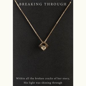 Breaking Through Pendant Necklace | Revival Collection