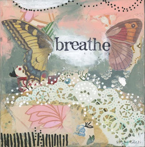 Kelly Rae Roberts Breathe Butterfly Matted Print | Artist Hand Signed & Titled