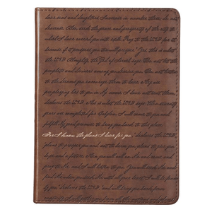 Jeremiah 29:11 Scripture Journal | For I Know The Plans I Have For You | LuxLeather