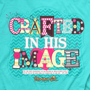 Cherished Girl by Kerusso Christian T-Shirt | Crafted in His Image