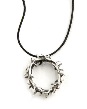 Handcrafted Sterling Silver Crown of Thorns Necklace