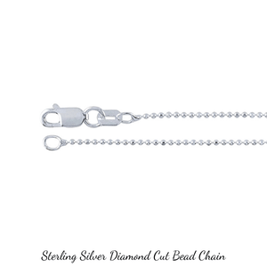 "18"" Sterling Silver Necklace Chain Upgrade Options"