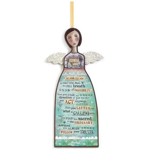 Dream Big Hanging Angel Wall Art | 12"