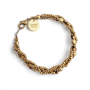 Fashion and Compassion | Bullets to Blessings Bracelet | Intended for Good | Genesis 50:20