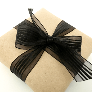 Gift Wrap and Sterling Silver Polishing Cloth