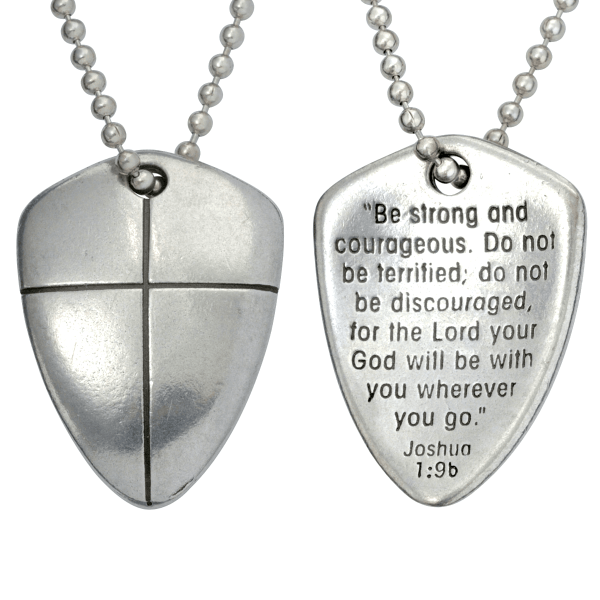 Fine Pewter Christian Necklaces for Men   Made in the USA