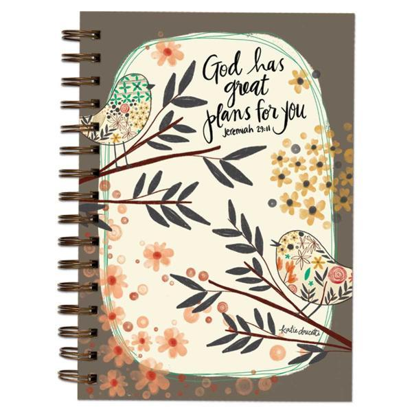 Floral Jeremiah 29:11 Journal