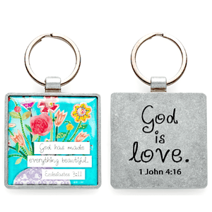 God Has Made Everything Beautiful Keychain | Ecclesiastes 3:11