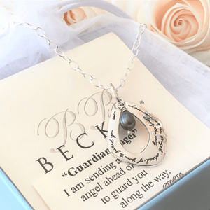Guardian Angel Sterling Silver Pendant Necklace | BB Becker | Exodus 23:20