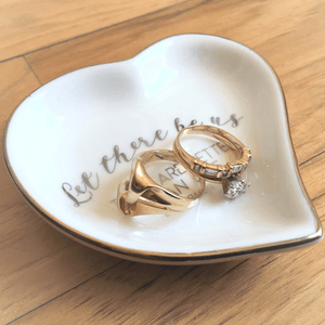 Wedding Ring Holder | Let There Be Us | Two Are Better Than One