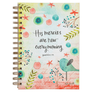 Devotional Journal | His Mercies Are New Every Morning | Lamentations 3:23