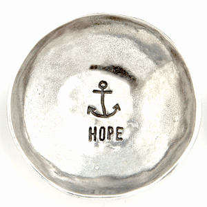 Fine Pewter Ring Dish | Hope Anchor