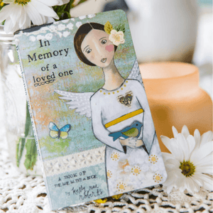 In Memory of a Loved One Gift Book | Kelly Rae Roberts