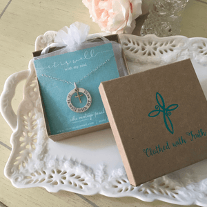 It Is Well With My Soul Necklace | The Vintage Pearl