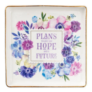 Jeremiah 29:11 Trinket Dish | Plans to Give You Hope and a Future