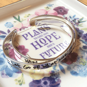 Jeremiah 29:11 Jewelry Trinket Dish | Plans to Give You Hope and a Future