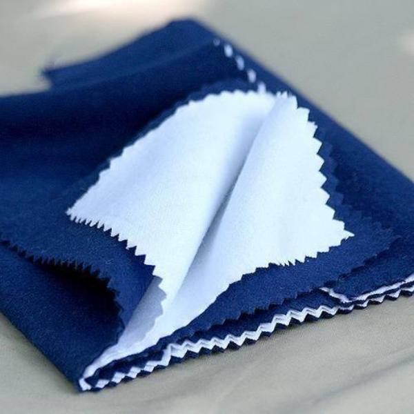 Sterling Silver Jewelry Polishing Cloth | 2 Ply Microfiber