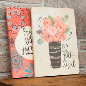 Enjoy the Journey Inspirational Journal