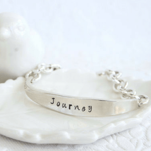 """Journey"" Handcrafted Vintage Spoon Bracelet"