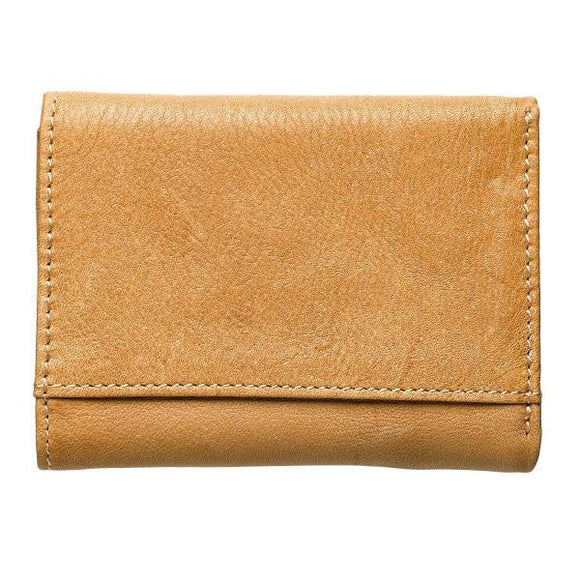 Light Brown Genuine Leather Men's Scripture Verse Wallet | Like Eagles | Isaiah 40:31