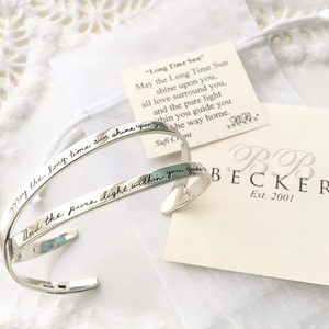 BB Becker Sterling Silver Blessing Bracelet | Long Time Sun