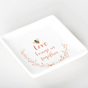 Love Brings Us Together Ring Dish