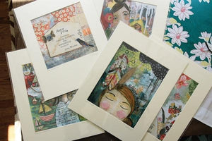 Kelly Rae Roberts Artist Signed Matted Prints