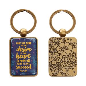 The Desire of Your Heart Keychain | Psalm 20:4