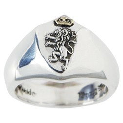 Sterling Silver Men's Narnia Christian Ring | Lion of Judah