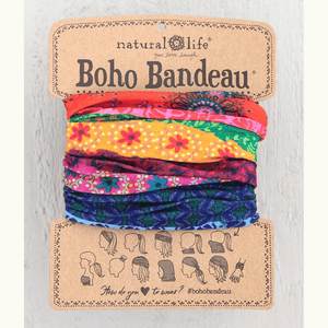 Multi Stripe Boho Bandeau | Natural Life