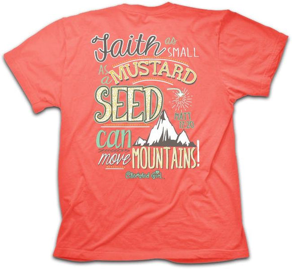 Mustard Seed Christian T-Shirt Square - Clothed with Truth