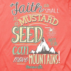 Cherished Girl Christian Shirt | Mustard Seed