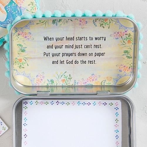 With God All Things Are Possible Natural Life Prayer Box