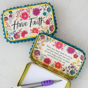 Have Faith Natural Life Prayer Box