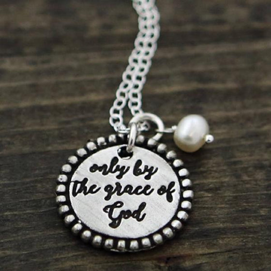 The Vintage Pearl Necklace | Only By The Grace Of God
