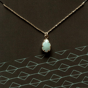 Peter Walks on Water Pendant Necklace | Amazonite