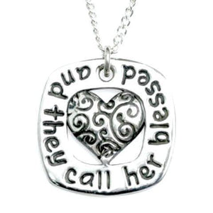Sterling Silver Proverbs 31 Pendant Necklace | And They Call Her Blessed